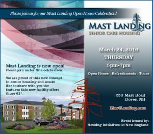 Mast Landing Open House