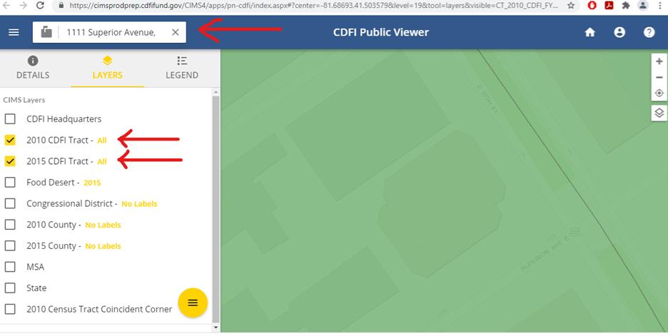 CDFI Public Viewer