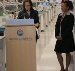 U.S. Senator Maria Cantwell and NDC's Michelle Morlan stress the importance of the New Market Tax Credit (NMTC) program.
