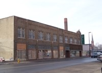 The Huges-Iron Building currently embodies Council Bluffs' historic challenges, but the City's redevelopment efforts will revitalize the building and return it to its original glory.