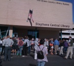 Doors opened to the new Tom Green County Library in San Angelo, TX on Monday, April 4.