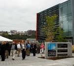 Over 200 people attended the Center for Urban Waters' grand opening celebration on September 9, 2010.