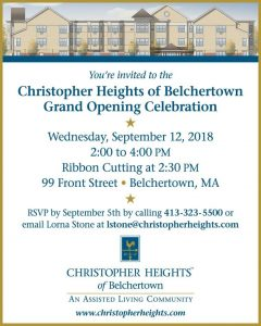 Christopher Heights Grand Opening