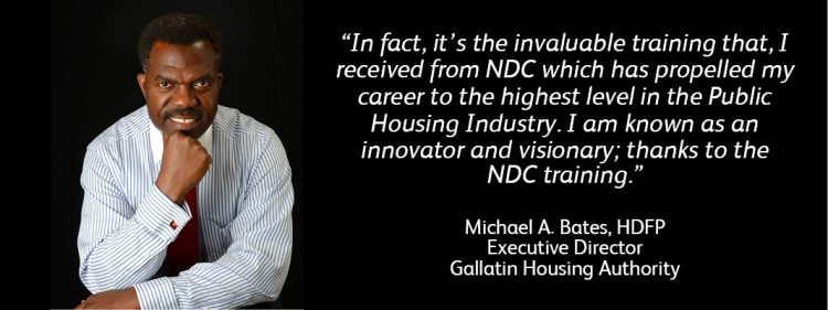 NDC HDFP Michael Bates